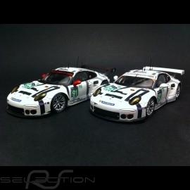 Duo Porsche 911 GT3 RSR n° 91 und n° 92 Le Mans 2015 1/43  Spark MAP02087615 und MAP02087715