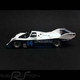 Porsche 962 Sieger Daytona 1987 n° 14 Löwenbräu 1/43 Spark MAP02028714