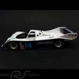 Porsche 962 Sieger Daytona 1986 n° 14 Löwenbräu 1/43 Spark MAP02028614
