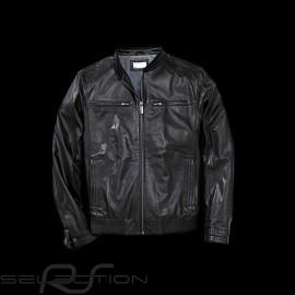 Leather jacket  Porsche black Porsche Design WAP974 - men