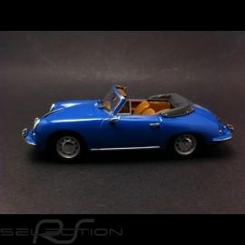 Porsche 356 C cabriolet 1963 blau 1/43 Minichamps WAP0205500H