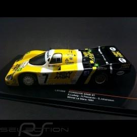Porsche 956 B Sieger le Mans 1984 n° 7 New Man 1/43  IXO LM1984