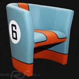 Tubstuhl  Racing Inside n° 6 blau Racing team blau / orange