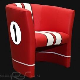 Tubstuhl Racing Inside n° 1 rot GT Racing / weiß