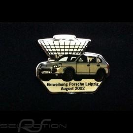 Porsche Button Einweihung Porsche Leipzig - August 2002 - Porsche Cayenne