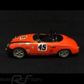 Porsche 356 Speedster n° 45 Ed Parlett orange / schwarz 1/43 Schuco 450883700