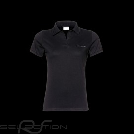 Porsche Polo Shirt Classic Schwarz - Damen - Porsche Design WAP745