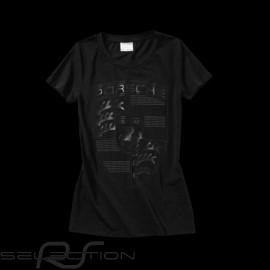 Porsche T-shirt riesen Wappen schwarz - Damen - Porsche WAP797