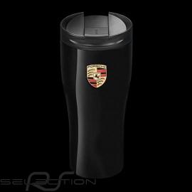 Thermo-becher Porsche schwarz hochglanzlackiert Porsche Design WAP0500630H