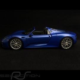 Porsche 918 Spyder 2014 blau 1/24 Welly MAP02484416