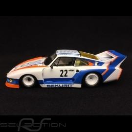 Porsche 935 Sieger Silverstone 1981 n° 22 Sekurit 1/43 Spark MAP02020717