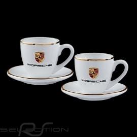 Set von 2 expresso tasse Porsche Gold Porsche Design WAP0505950H