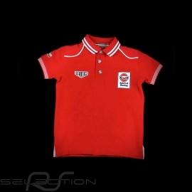 Polo-shirt Gulf Spirit of Racing rot - Kinder