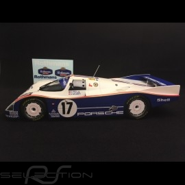 Porsche 962 IMSA Sieger Daytona 1986 n° 14 Holbert Racing Löwenbrau 1/18 Norev 187407