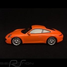 Porsche 911 Carrera S type 991 orange Gulf 1/43 Minichamps 940060221