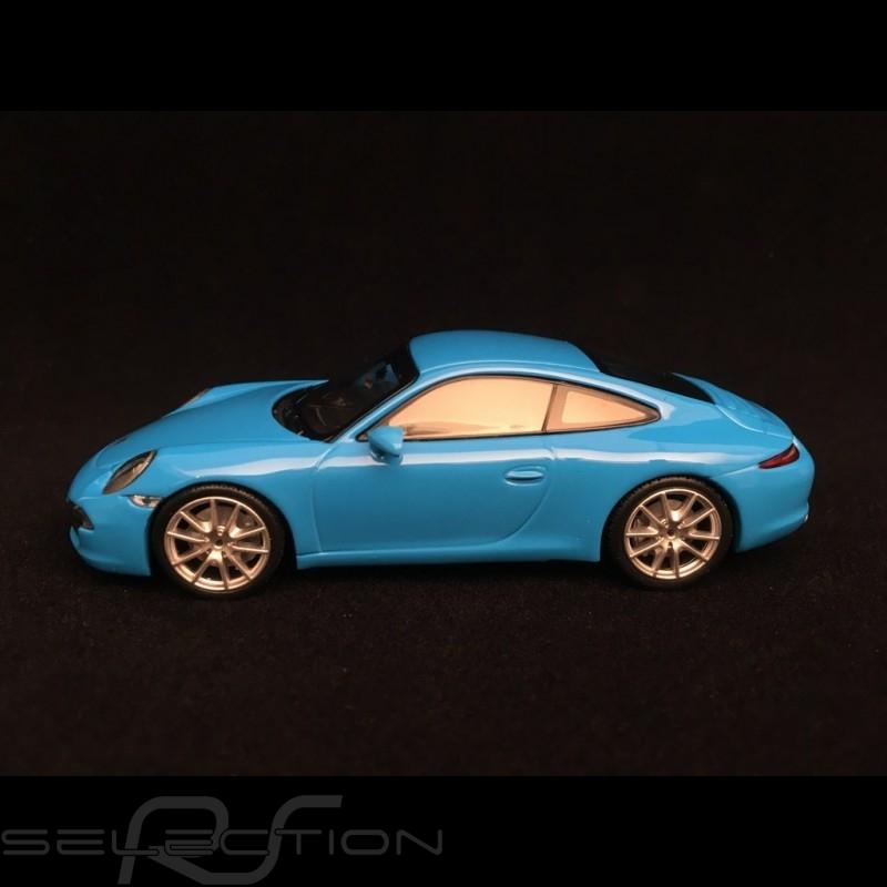Porsche 911 Carrera S type 991 Riviera blau 1/43 Minichamps 940060220