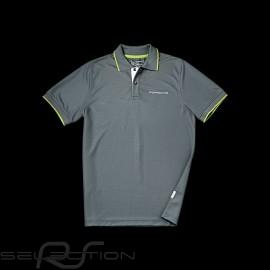 Polo Porsche Golf Collection grau grün Porsche Design WAP542 - Herren