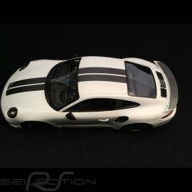Porsche 911 Turbo S Exclusive Series 991 2017  weiß Carrara 1/18 Spark WAP0219030H