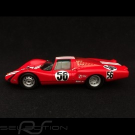 Porsche 906 LH Daytona 1967 n° 56 Vögele 1/43 Spark S4743