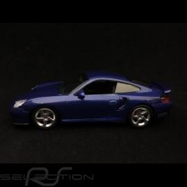 Porsche 911 Turbo type 996 1999 nachtblau metallic 1/43 Minichamps 940069301