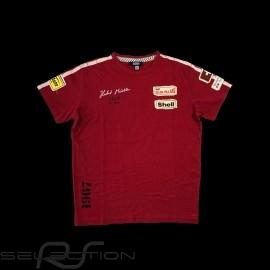 T-shirt Herbert Müller n° 210 Ollon Villars 1967 rot - Herren