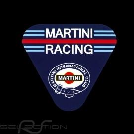 Aufkleber Porsche Martini Racing Club Abgerundete Dreieck 9 X 9.8 cm