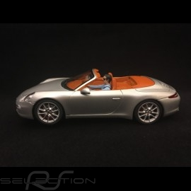 Slot car Porsche 911 Carrera S Cabriolet Silbergrau metallic 1/32 Carrera 20030773