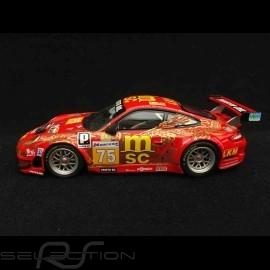 Porsche 911 typ 997 GT3 RSR Le Mans 2009 n° 75 1/43 Minichamps 400096975