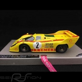 Slot car Porsche 917 K 81 1000km Brands Hatch 1981 Kremer 1/32 Le Mans miniatures 1320812M