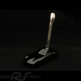 Porsche Design Shake Pen Silber 2018 Kugelschreiber schwarze 911 Skulptur als Halter