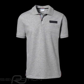 Porsche Polo Shirt Classic Collection Hellgraumeliert WAP718K - Herren