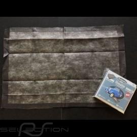 Ölmatte / Lösungsmittelmatte schwarz / Bodenschutz Premium-Qualität