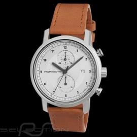 Porsche Uhr Chronoraph Classic 70 Jahre Limited Edition weiß WAP0700090K