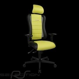 Ergonomischer Bürostuhl Sitness RS Sport Lichtgrün / Schwarz Kunstleder Gaming Sessel Made in Germany