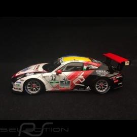 Porsche 911 GT3 Cup typ 991 n° 12 Sieger Carrera Cup 2017 Italia 1/43 Spark SI006