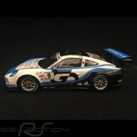 Porsche 911 GT3 Cup typ 991 n° 9 Sieger Carrera Cup 2017 Japan 1/43 Spark SJ057