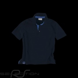 Porsche Polo Classic Metropolitan Collection Porsche Design WAP961J marineblau - Herren