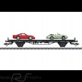 Porsche Autotransportwagen 70 Jahre Porsche 80er Jahre Märklin HO 1/87 MAP10708018 4505