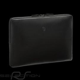 Porsche Laptop Hülle schwarze Leder Porsche Design WAP0300100K