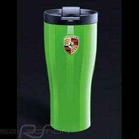 Thermo-becher Porsche lizardgrün hochglanzlackiert Porsche Design WAP0506000J