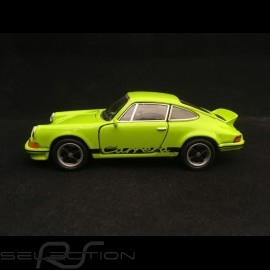 Porsche 911 Carrera RS 2.7 Spielzeug Reibung Welly grün / schwarz