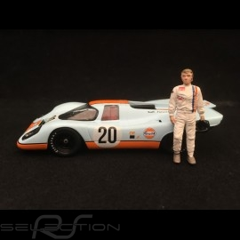 Porsche 917 K Gulf n° 20 Steve Mc Queen Le Mans 1970 1/43 Greenlight 86435