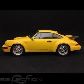 Porsche 911 type 964 Turbo 1990 speedgelb 1/18 Minichamps 155069100