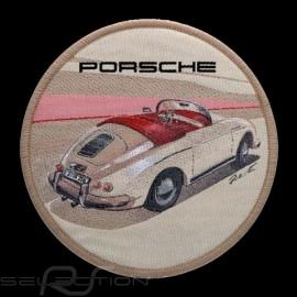 Porsche 356 Badge original Aufbügel patch Porsche Design WAX04000001