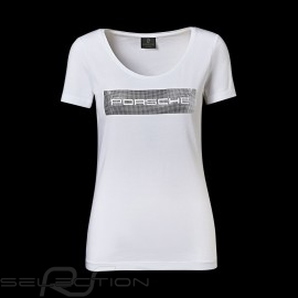 Porsche T-shirt Essential Collection weiß / silber Porsche  WAP825 - Damen