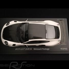 Porsche 911 GT3 RS type 991 Mark II Pack Weissach 2018 weiß / schwarz 1/18 Spark WAP0211690K