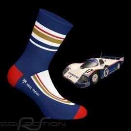 Rothmans 936 Socken blau / rot / weiß - Unisex