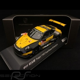 Porsche 911 RSR typ 991 24h du Mans 2018 n° 56 Team Project One 1/43 Spark S7038