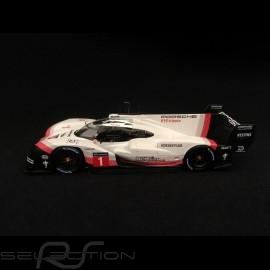 Porsche 919 Hybrid Evo n° 1 Tribute tour Nürburgring und Spa 2018 Rekord 1/43 Spark WAP0209260K