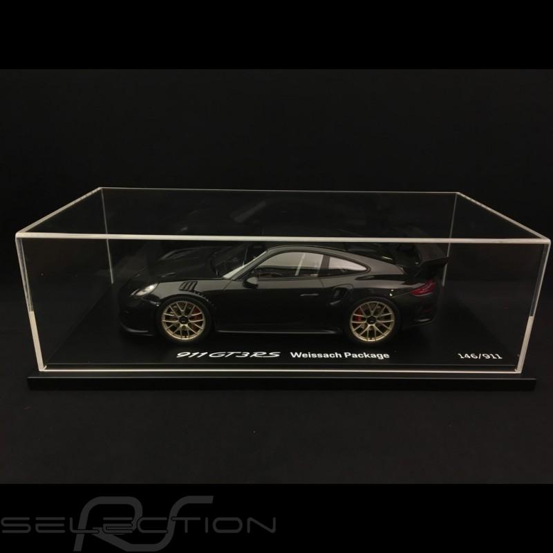 Porsche 911 GT3 RS type 991 Mark II Pack Weissach 2018 schwarz / carbon 1/18 Spark WAP0211680K
